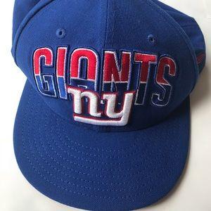 New York Giants flat bill ball cap hat ny football